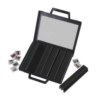"abb Image - Hama, ""300"" Slide Case, with 6 Magazines for 50 Slides each"