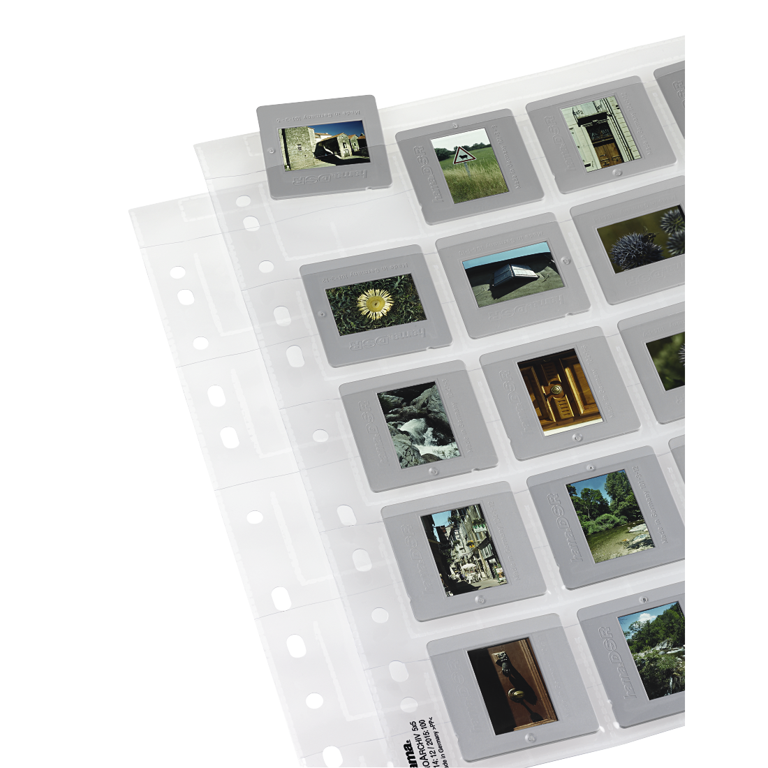 abx High-Res Image - Hama, Slide Sleeves for 20 mounted slides with a size of 5x5 cm, 25 pieces