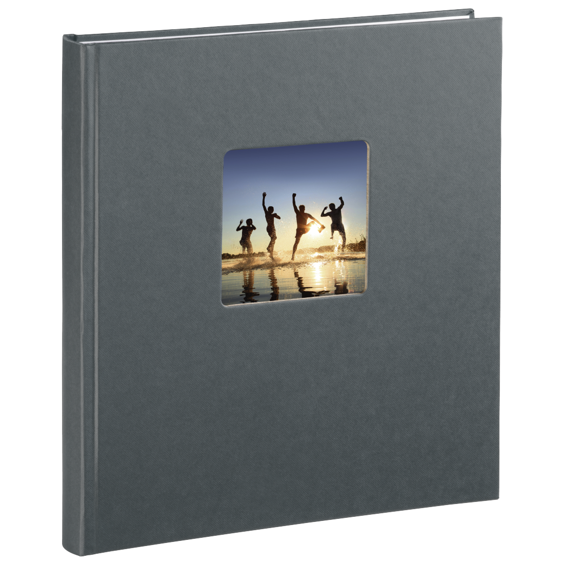 "abx3 High-Res Image 3 - Hama, ""Fine Art"" Bookbound Album, 29 x 32 cm, 50 white pages, grey"