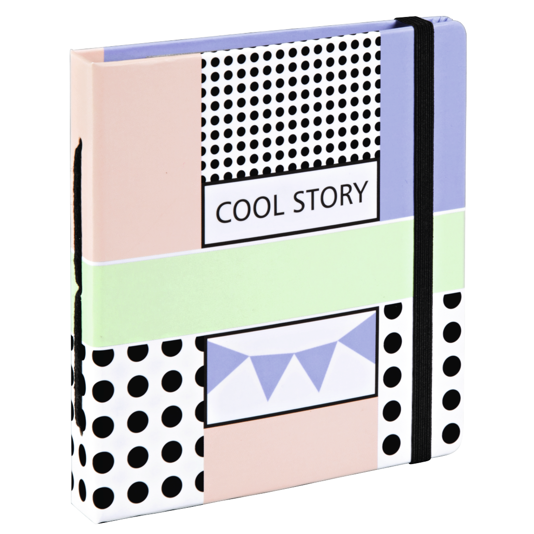 "abx High-Res Image - Hama, ""Cool Story"" Slip-In Album, for 28 Instant Photos up to max. 8.9 x 10.8 cm"