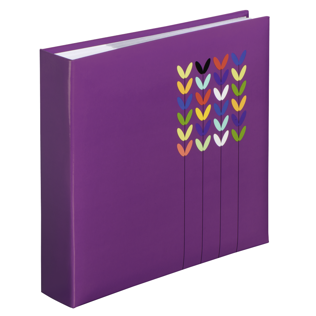 "abx High-Res Image - Hama, ""Blossom"" Memo Album for 200 photos with a size of 10x15 cm, purple"