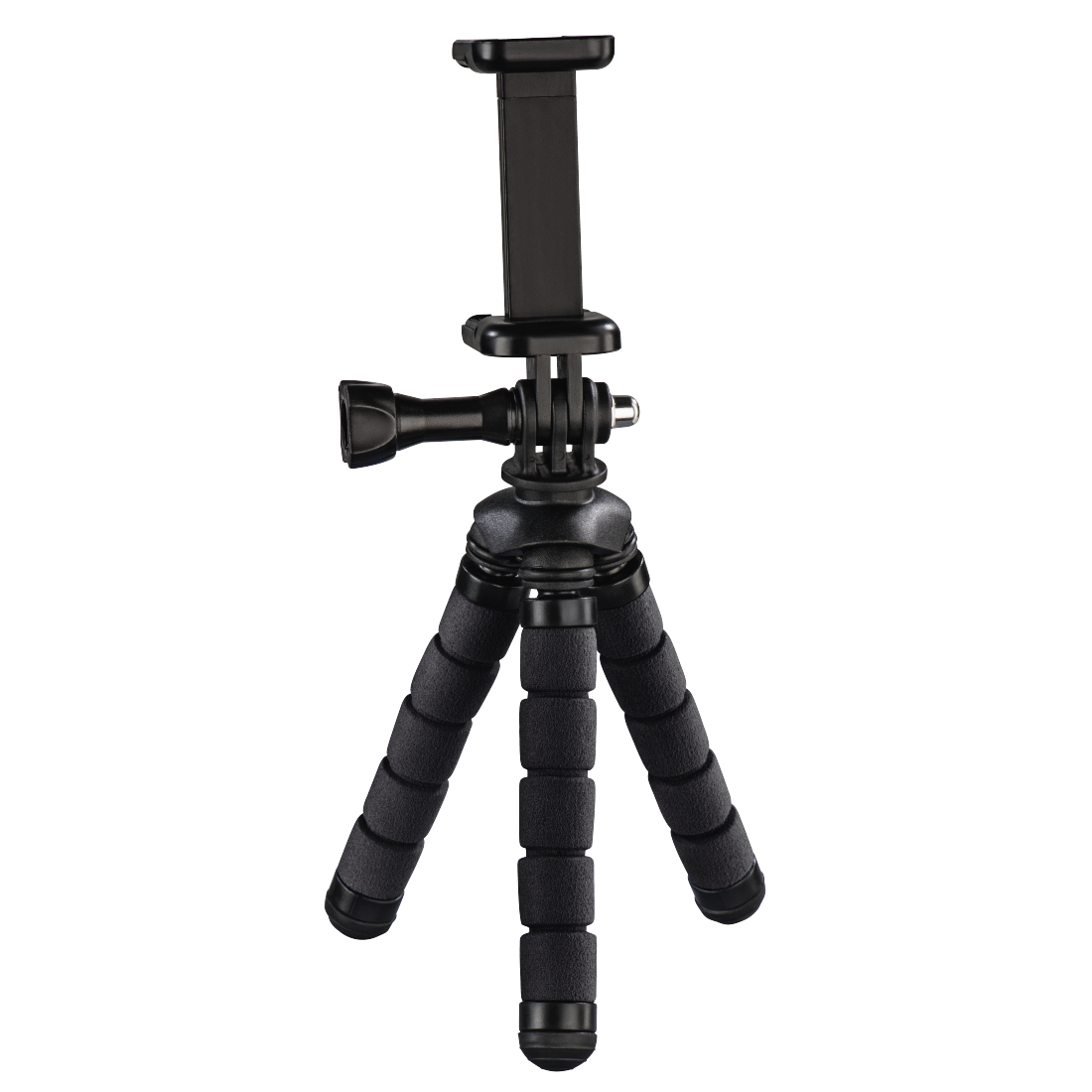 "abx High-Res Image - Hama, ""Flex"" Mini-Tripod for Smartphone and GoPro, 14 cm, black"
