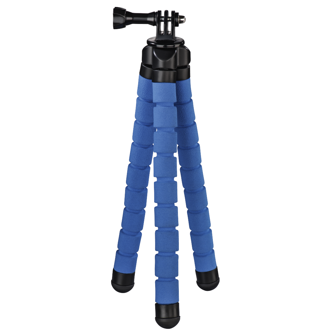 "abx2 High-Res Image 2 - Hama, ""Flex"" Tripod for Smartphone and GoPro, 26 cm, blue"