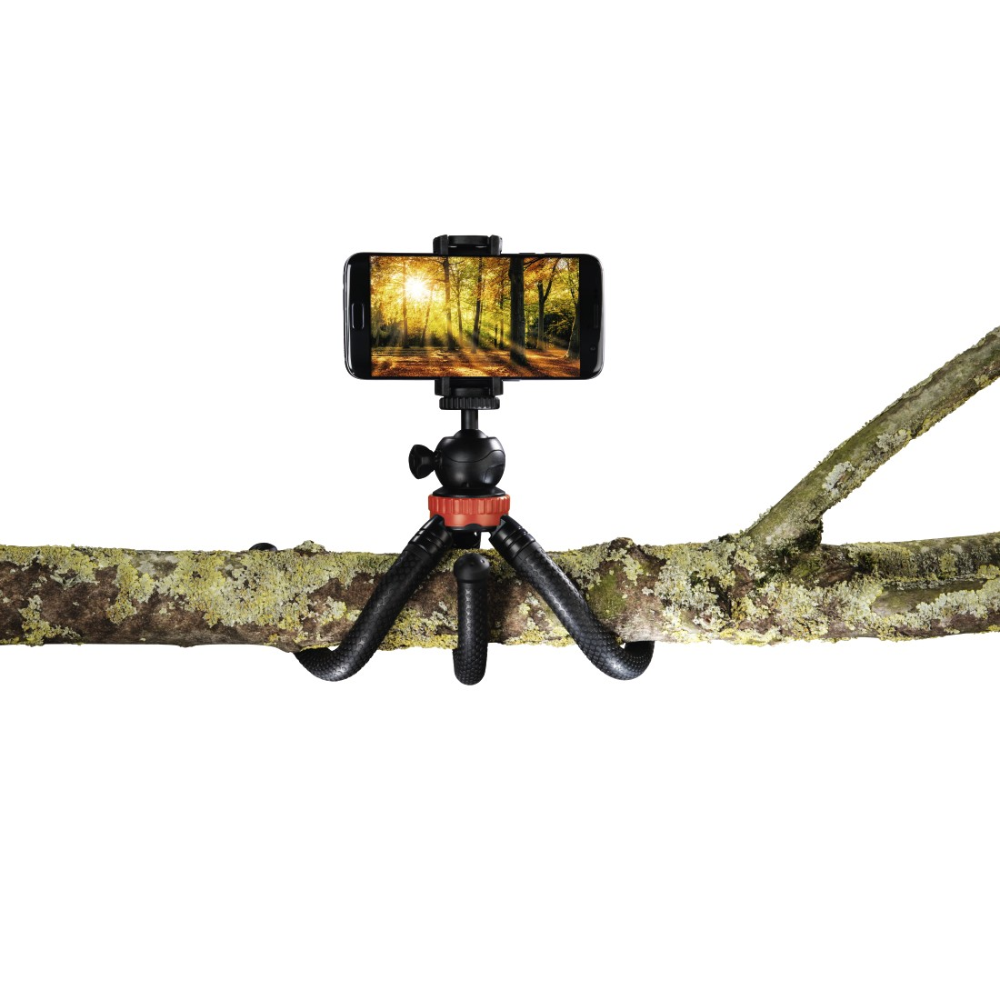 "awx High-Res Appliance - Hama, ""FlexPro"" Tripod for Smartphone, GoPro and Photo Cameras, 27 cm, red"