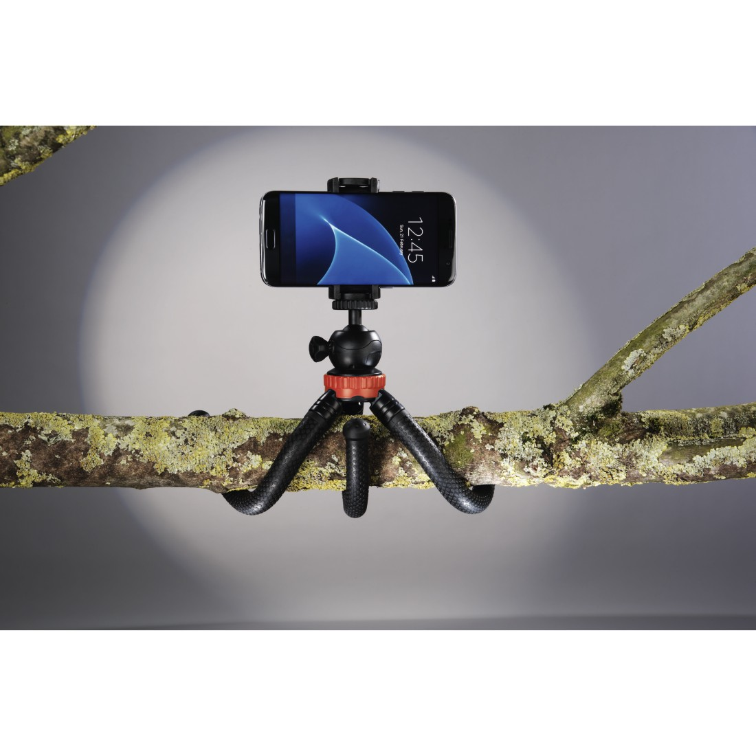 "awx2 High-Res Appliance 2 - Hama, ""FlexPro"" Tripod for Smartphone, GoPro and Photo Cameras, 27 cm, red"