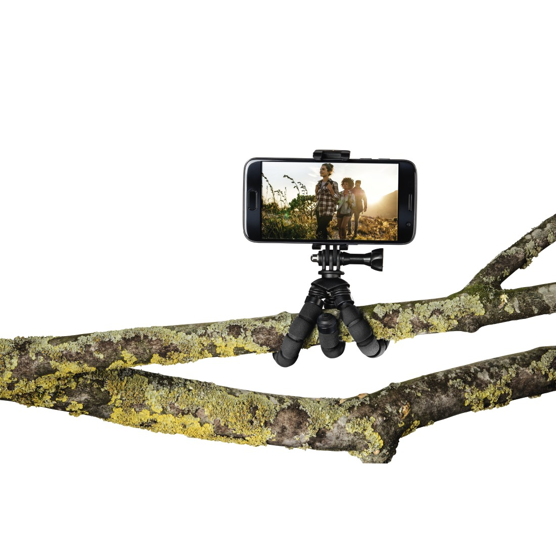 "awx High-Res Appliance - Hama, ""Flex"" Mini-Tripod for Smartphone and GoPro, 14 cm, black"