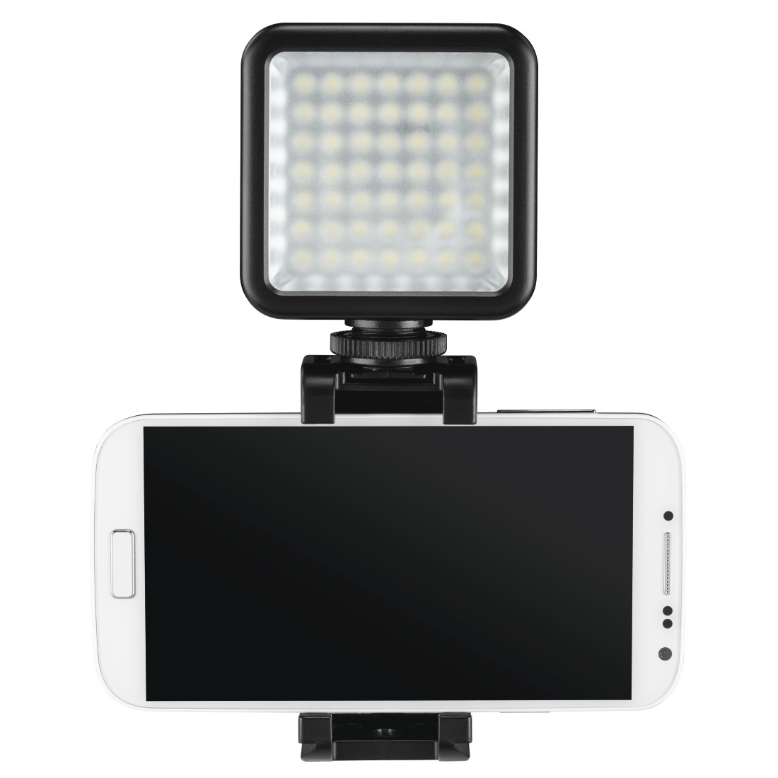 "awx2 High-Res Appliance 2 - Hama, ""49 BD"" LED Lights for Smartphone, Photo and Video Cameras"