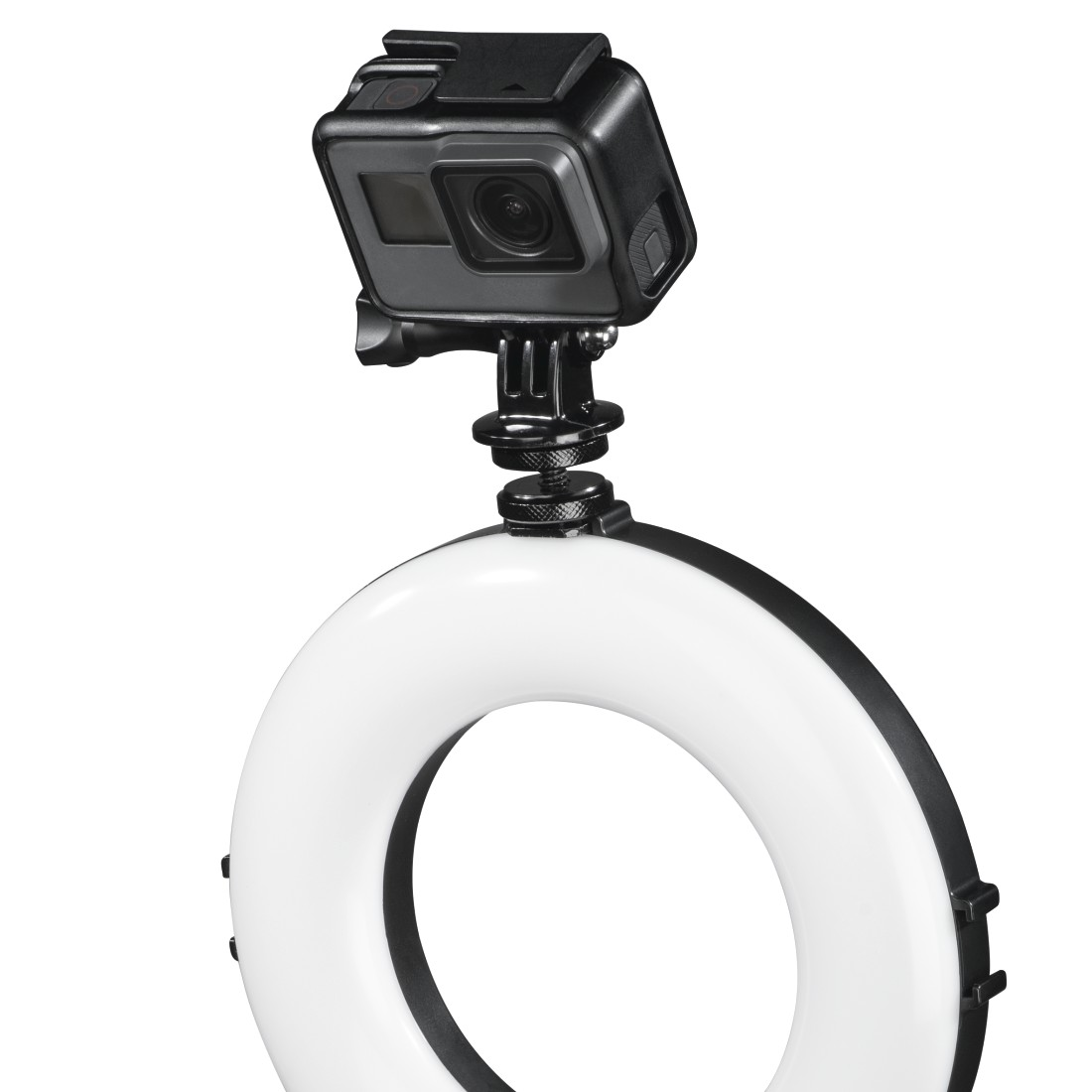 "awx12 Druckfähige Anwendung 12 - Hama, ""SpotLight Work Area 67"" LED Ring Light, Set for Smartphone and Tablet"
