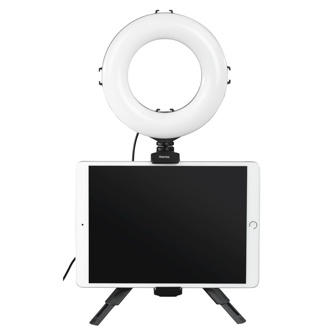 "awx2 High-Res Appliance 2 - Hama, ""SpotLight Work Area 67"" LED Ring Light, Set for Smartphone and Tablet"