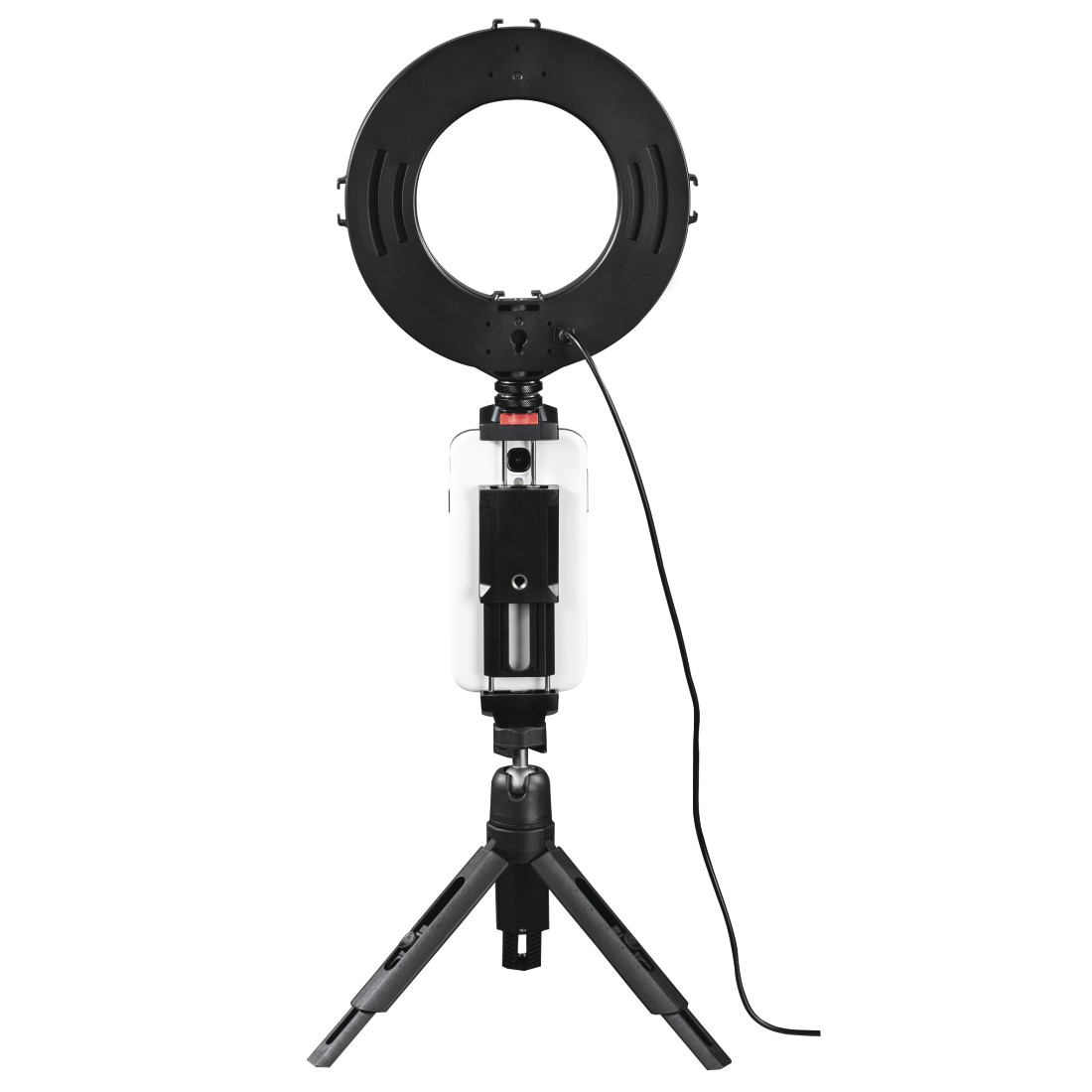 "awx5 High-Res Appliance 5 - Hama, ""SpotLight Work Area 67"" LED Ring Light, Set for Smartphone and Tablet"