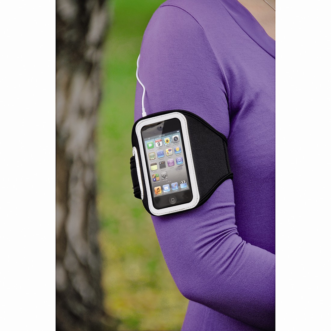 awx High-Res Appliance - Hama, Marathon Armband Case for iPod touch 4G, neoprene, black