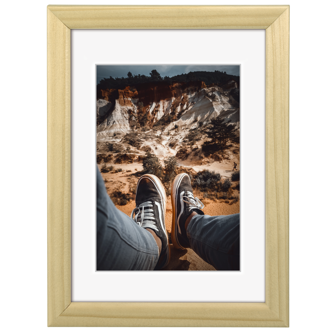 "abx High-Res Image - Hama, ""Bella"" Wooden Frame, natural-coloured, 10 x 15 cm"