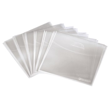 det Detail - Hama, CD/DVD Protective Sleeves 100, transparent