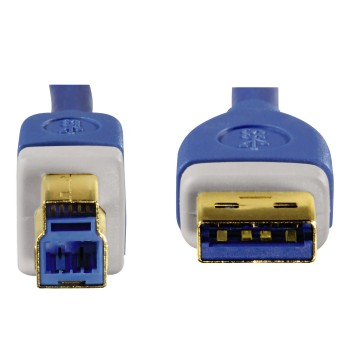 det3 Detail 3 - Hama, USB 3.0 Cable, gold-plated, double shielded, 1.80 m