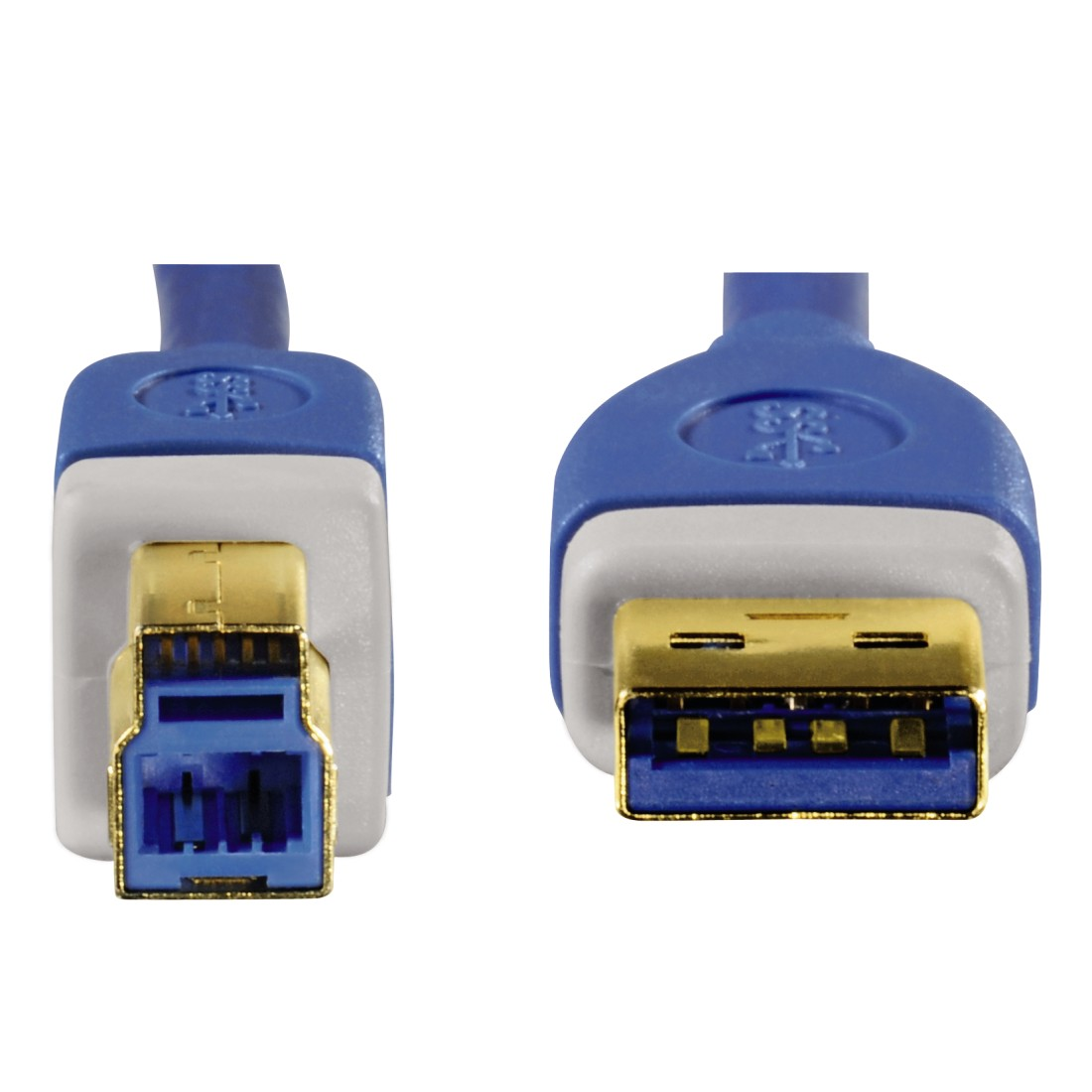 dex3 High-Res Detail 3 - Hama, USB 3.0 Cable, gold-plated, double shielded, 1.80 m