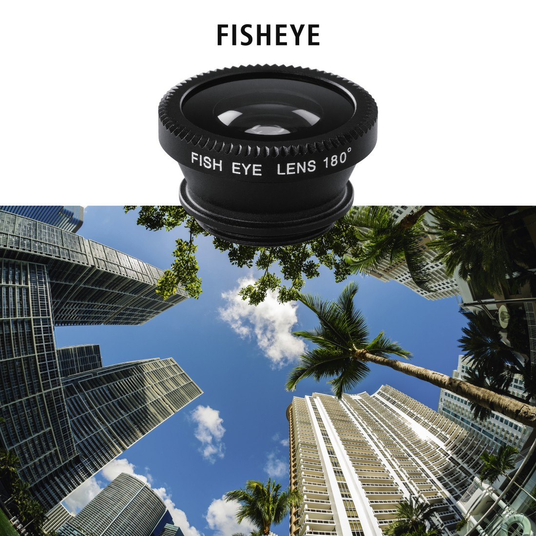 "awx High-Res Appliance - Hama, 3in1 ""Uni"" Lens Kit for Smartphones and Tablet PCs"
