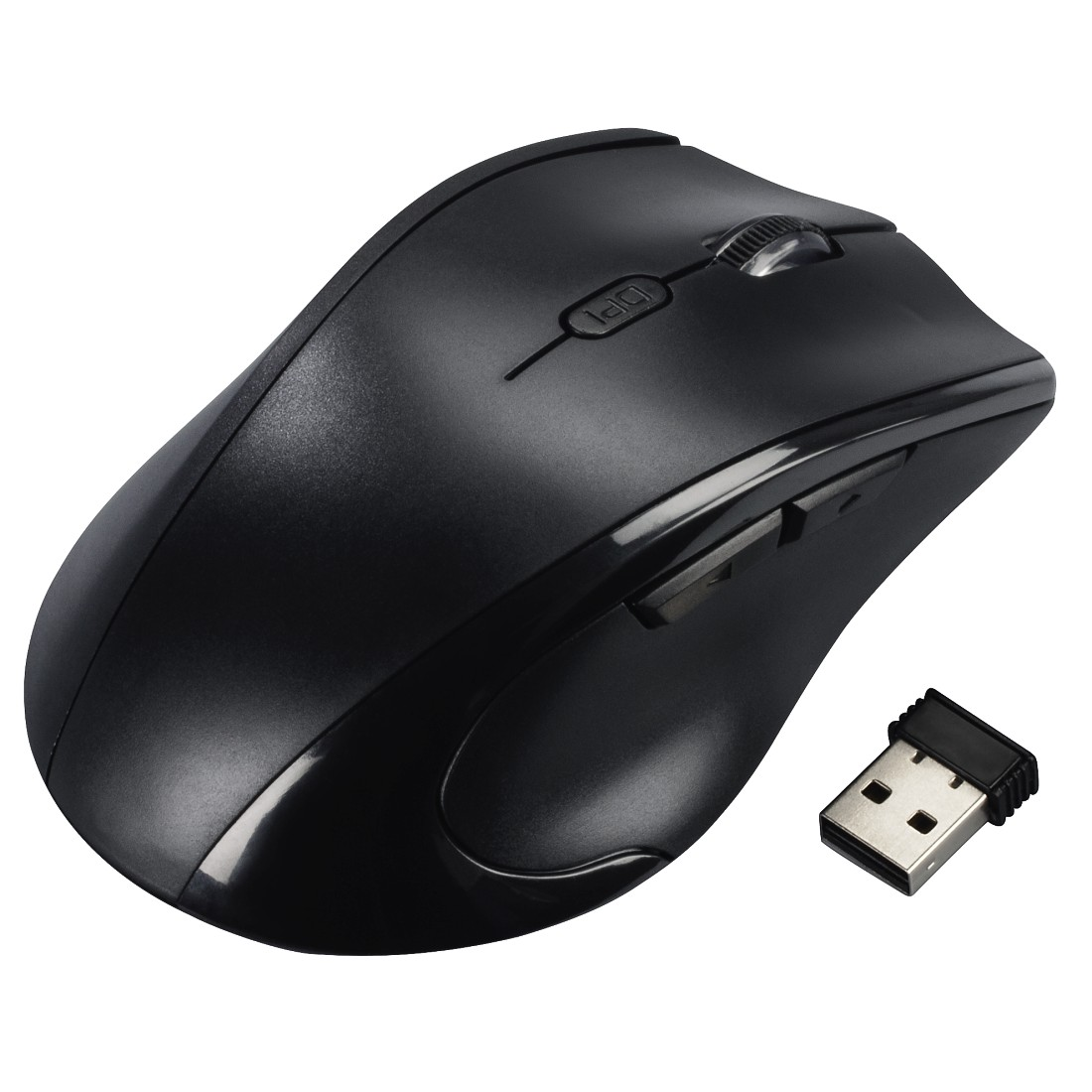 abx High-Res Image - Hama, Riano Left-handed Mouse, black