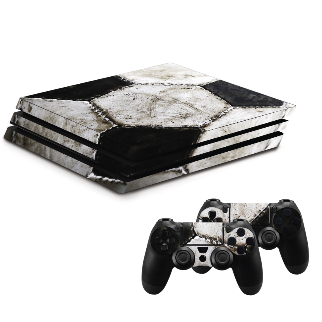 "abx High-Res Image - Hama, ""Soccer"" Design-Skin for PlayStation 4 PRO"