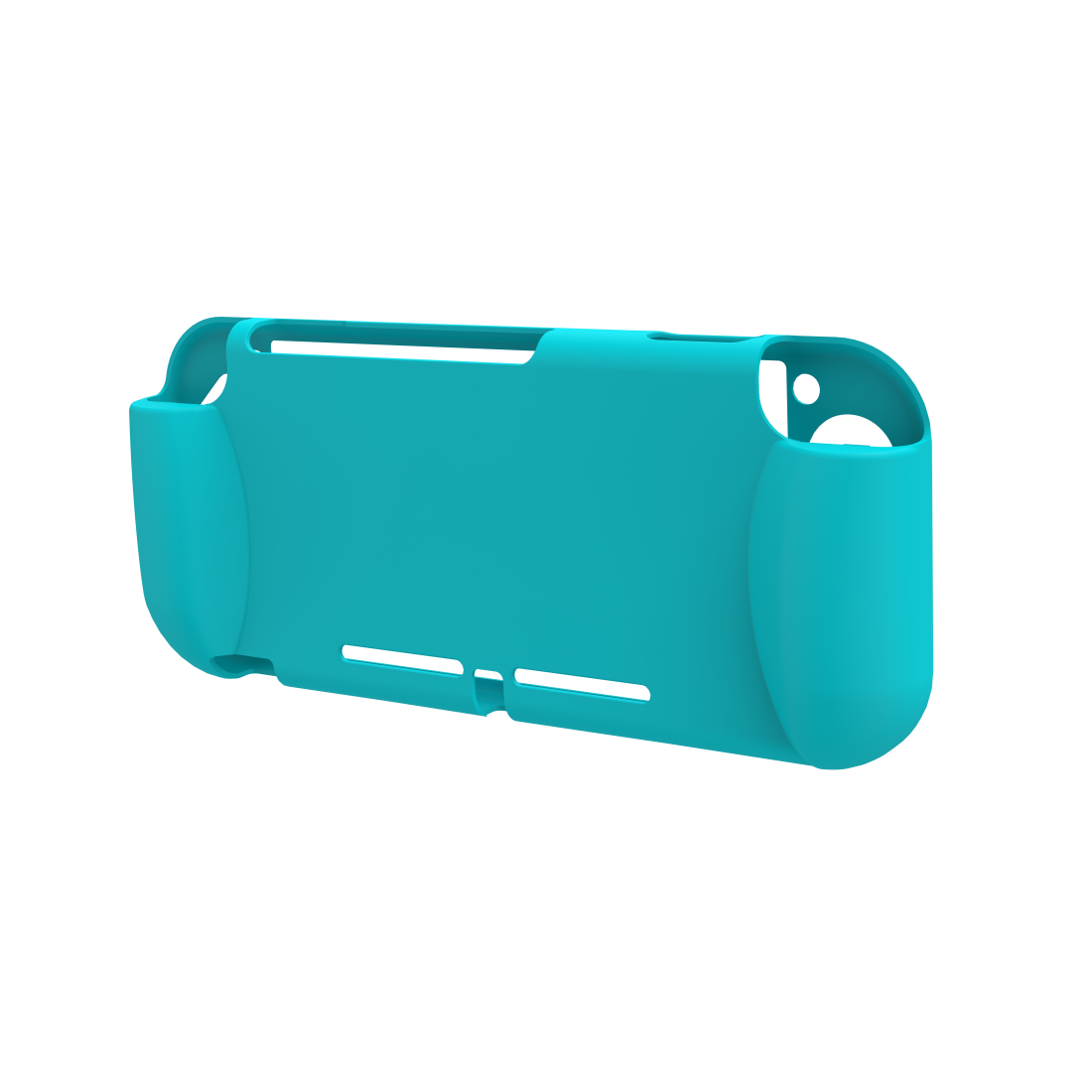 abx2 High-Res Image 2 - Hama, Grip Protective Sleeve for Nintendo Switch Lite, turquoise