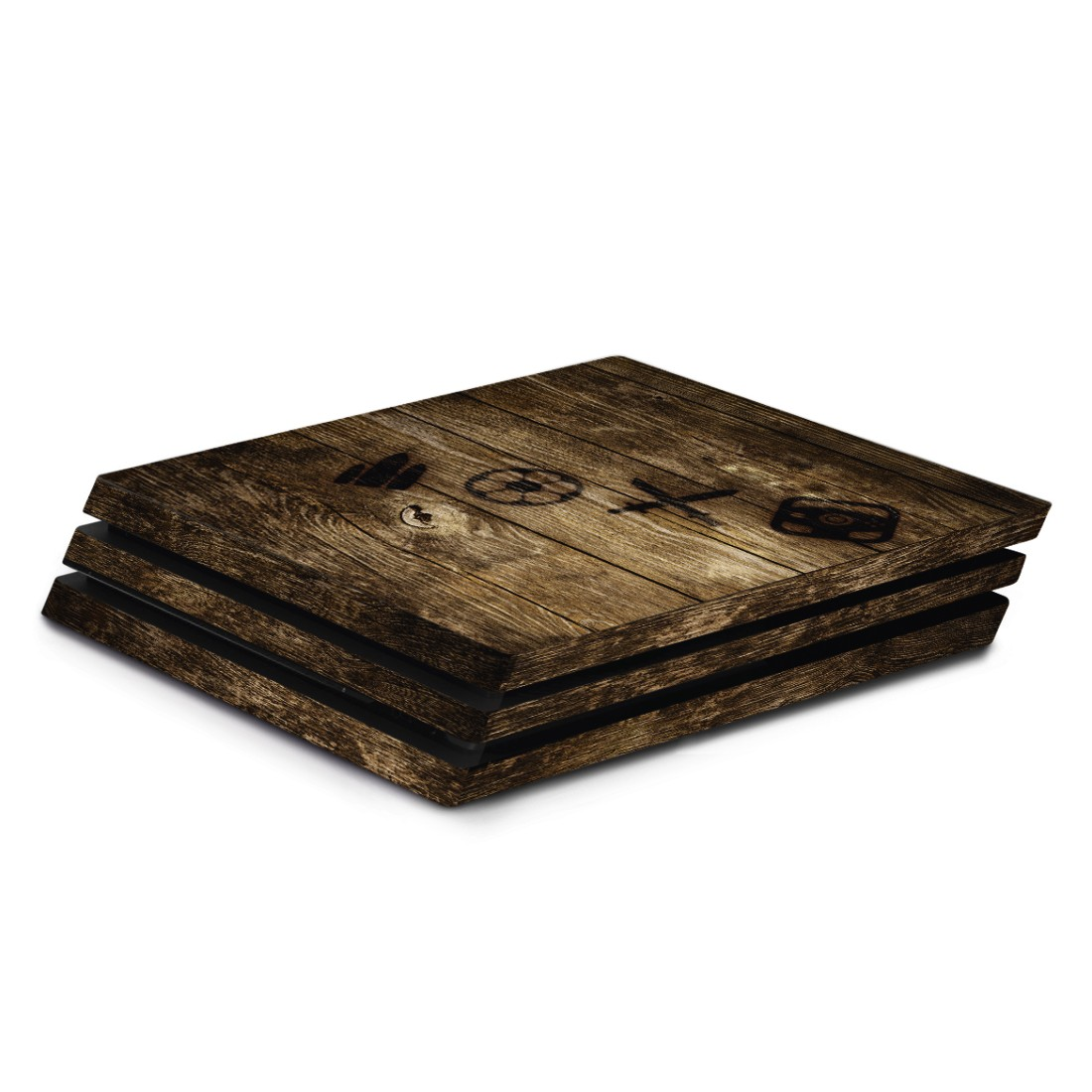 "awx High-Res Appliance - Hama, ""Wood"" Design Skin for PlayStation 4 PRO"