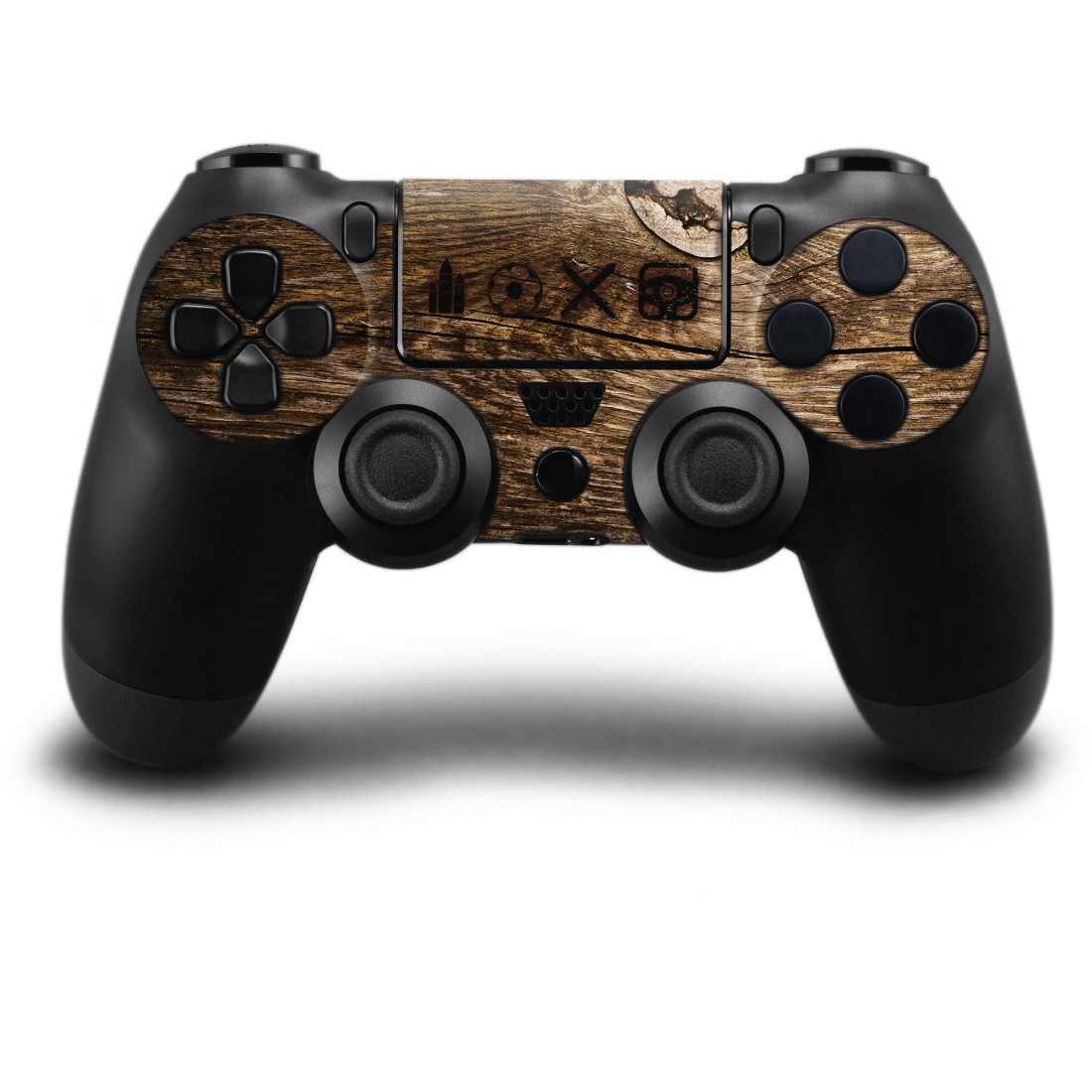 "awx3 High-Res Appliance 3 - Hama, ""Wood"" Design Skin for PlayStation 4 PRO"