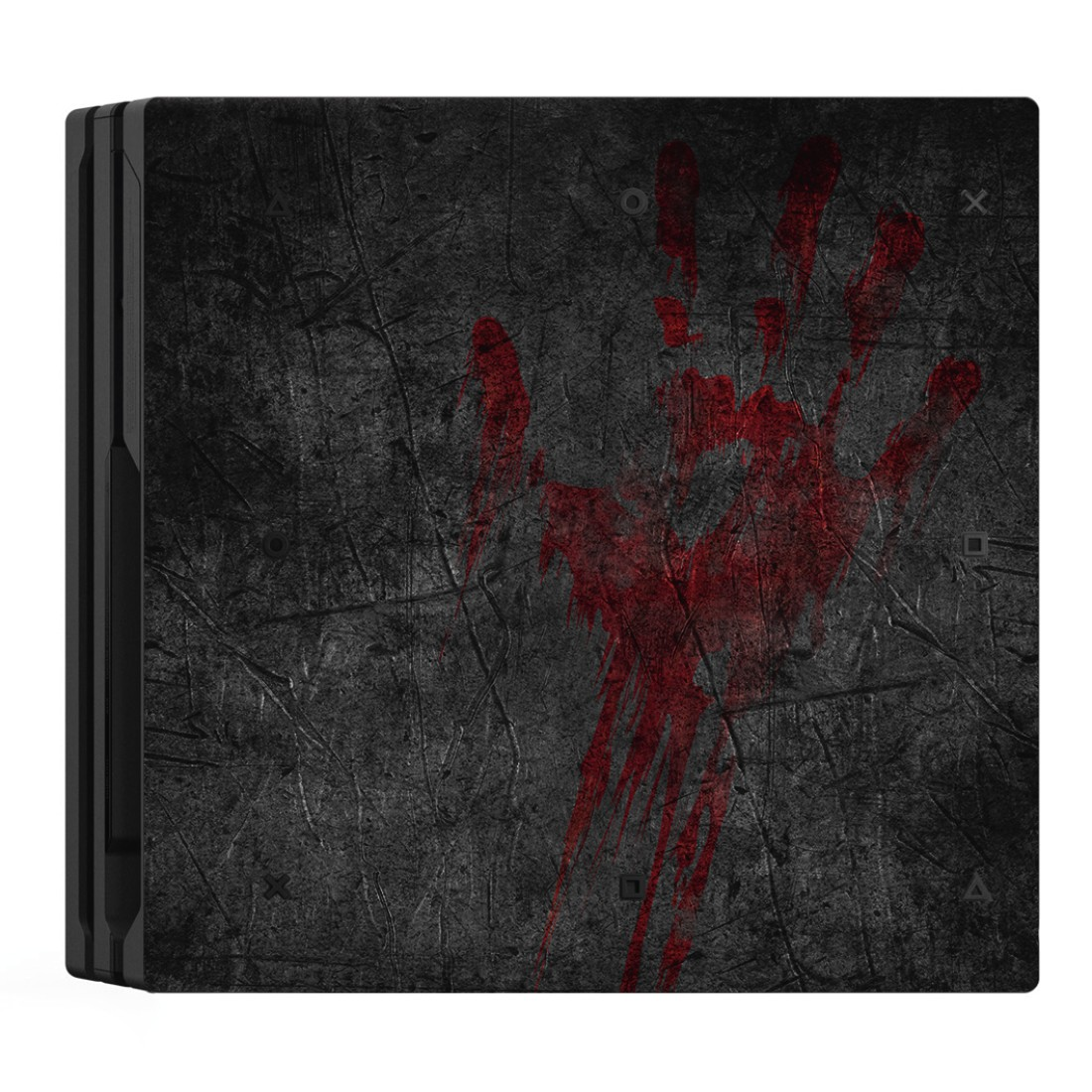 "awx2 High-Res Appliance 2 - Hama, ""Undead"" Design Skin for PlayStation 4 PRO"