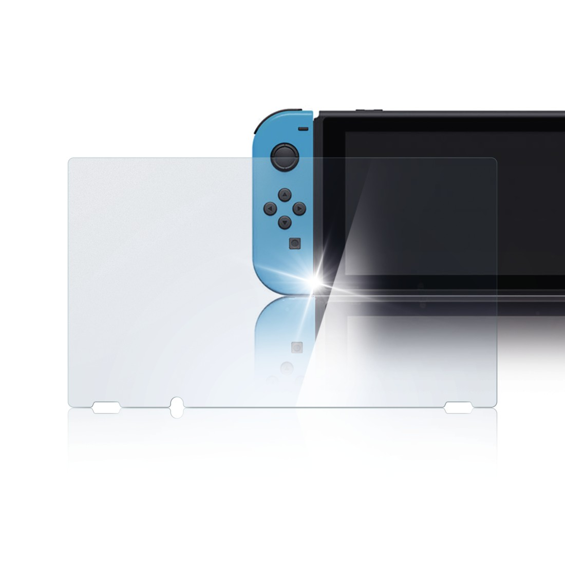 awx High-Res Appliance - Hama, Protective Glass for Nintendo Switch, 2 pcs