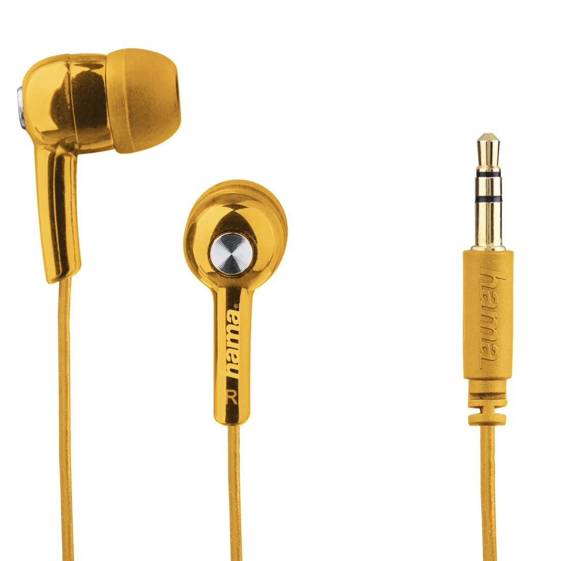 dex High-Res Detail - Hama, Gaming Headphones, In-Ear, for Nintendo Switch/Lite, yellow