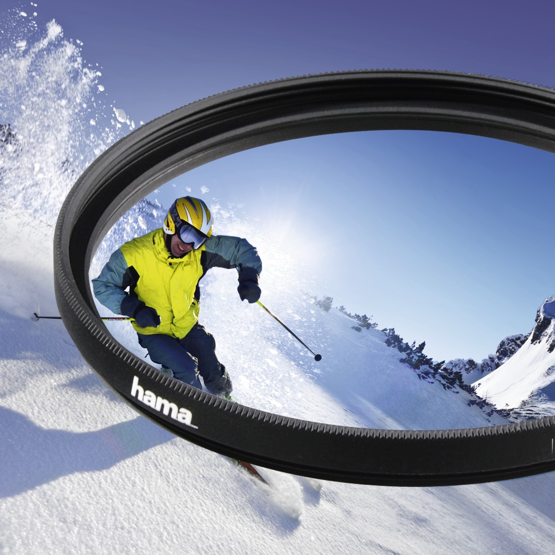 awx High-Res Appliance - Hama, UV Filter, coated, 72.0 mm