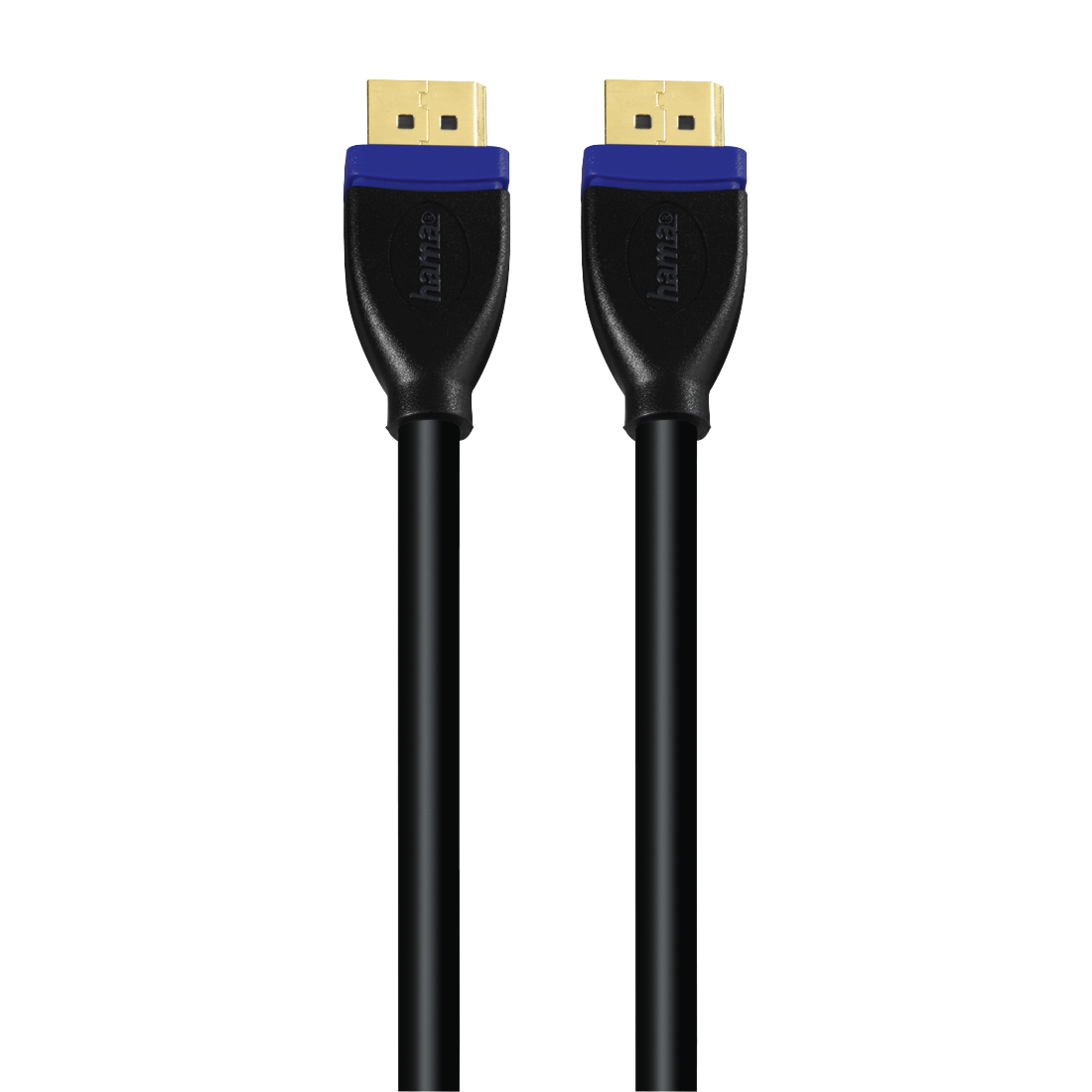 abx2 High-Res Image 2 - Hama, DisplayPort Cable, gold-plated, double shielded, 1.80 m