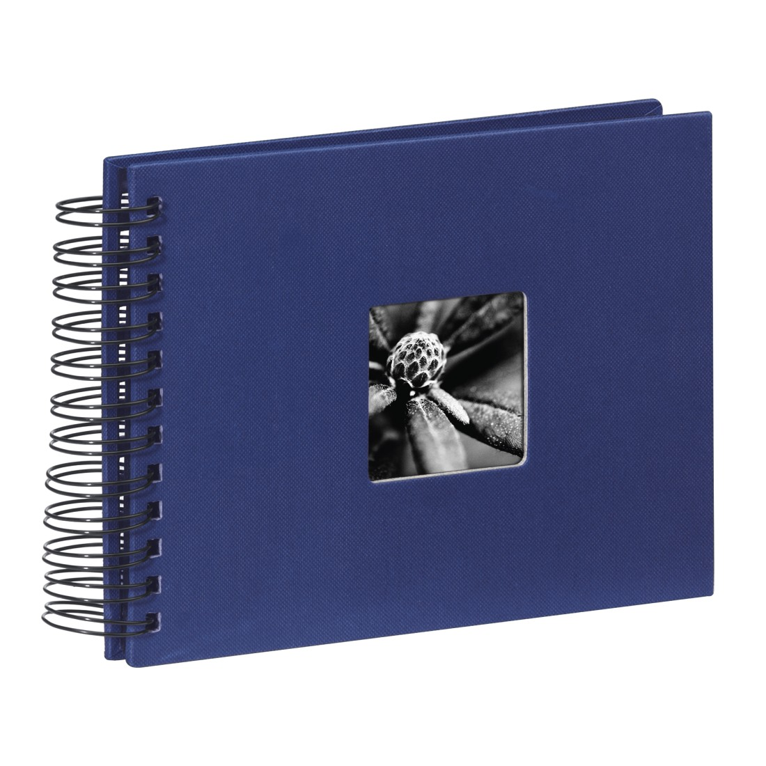abx High-Res Image - Hama, Fine Art Spiralbound Album, 24 x 17 cm, 50 black pages, blue