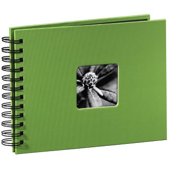 abb Image - Hama, Fine Art Spiralbound Album, 24x17/50, apple-green