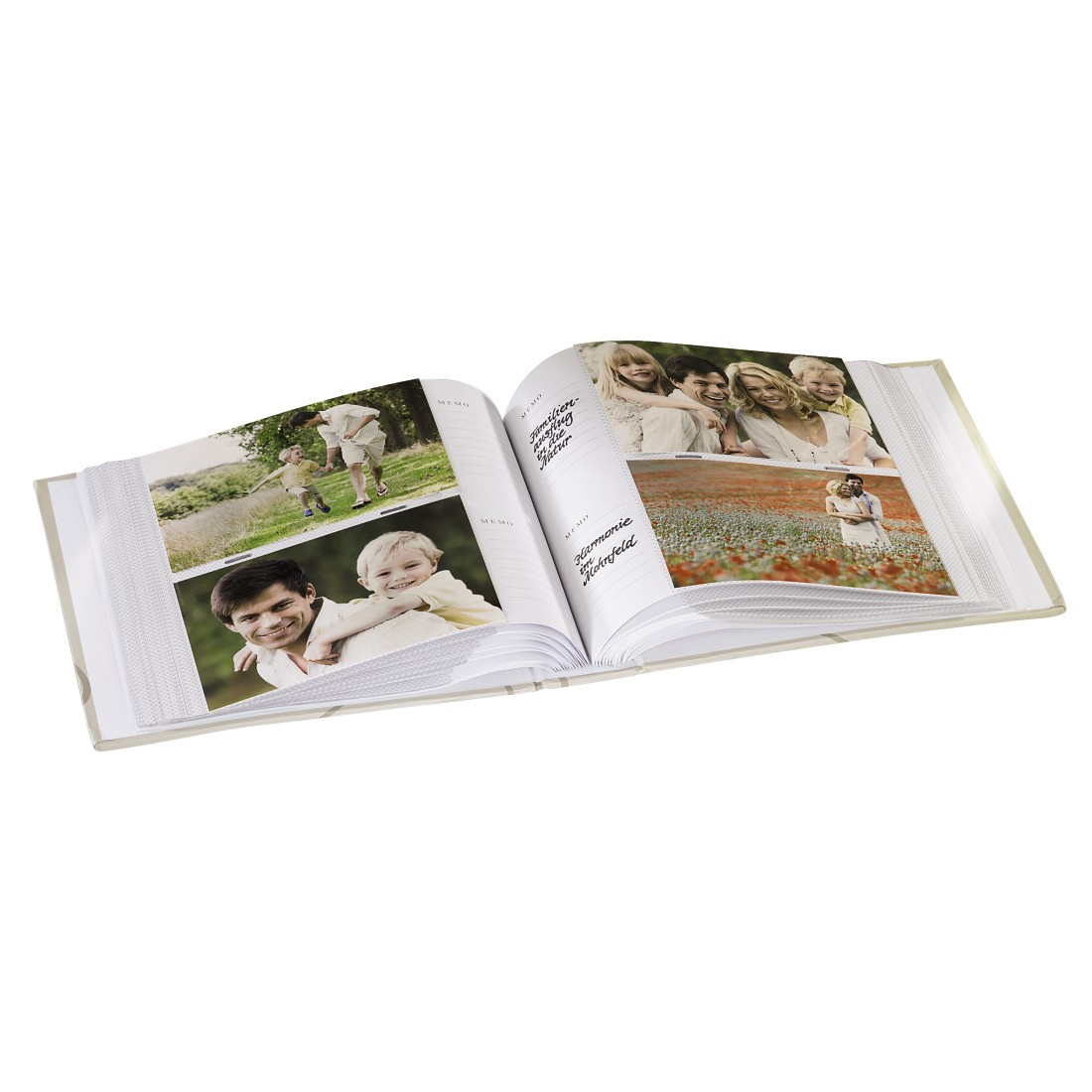 awx High-Res Appliance - Hama, Wild Rose Memo Album, for 200 photos with a size of 10x15 cm, white