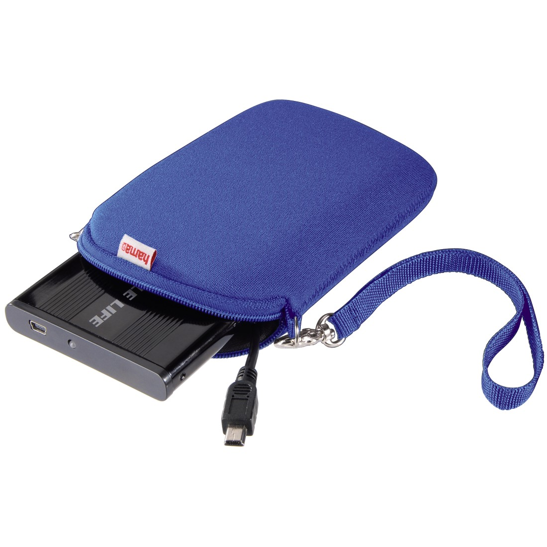 awx High-Res Appliance - Hama, 2.5 HDD Cover, neoprene, blue