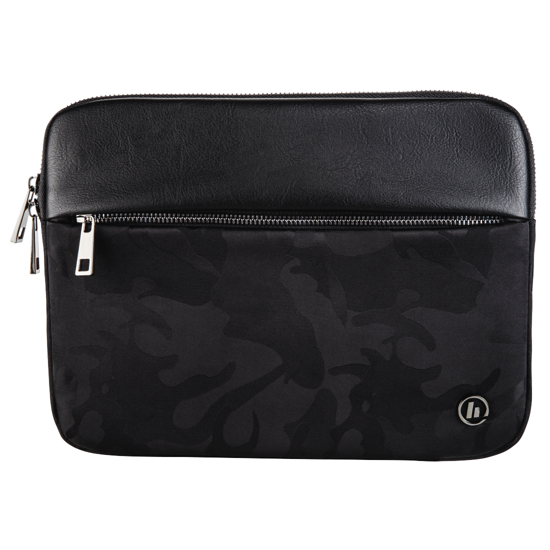 abx High-Res Image - Hama, Mission Camo Tablet Sleeve, up to 25.6 cm (10.1), gun metal