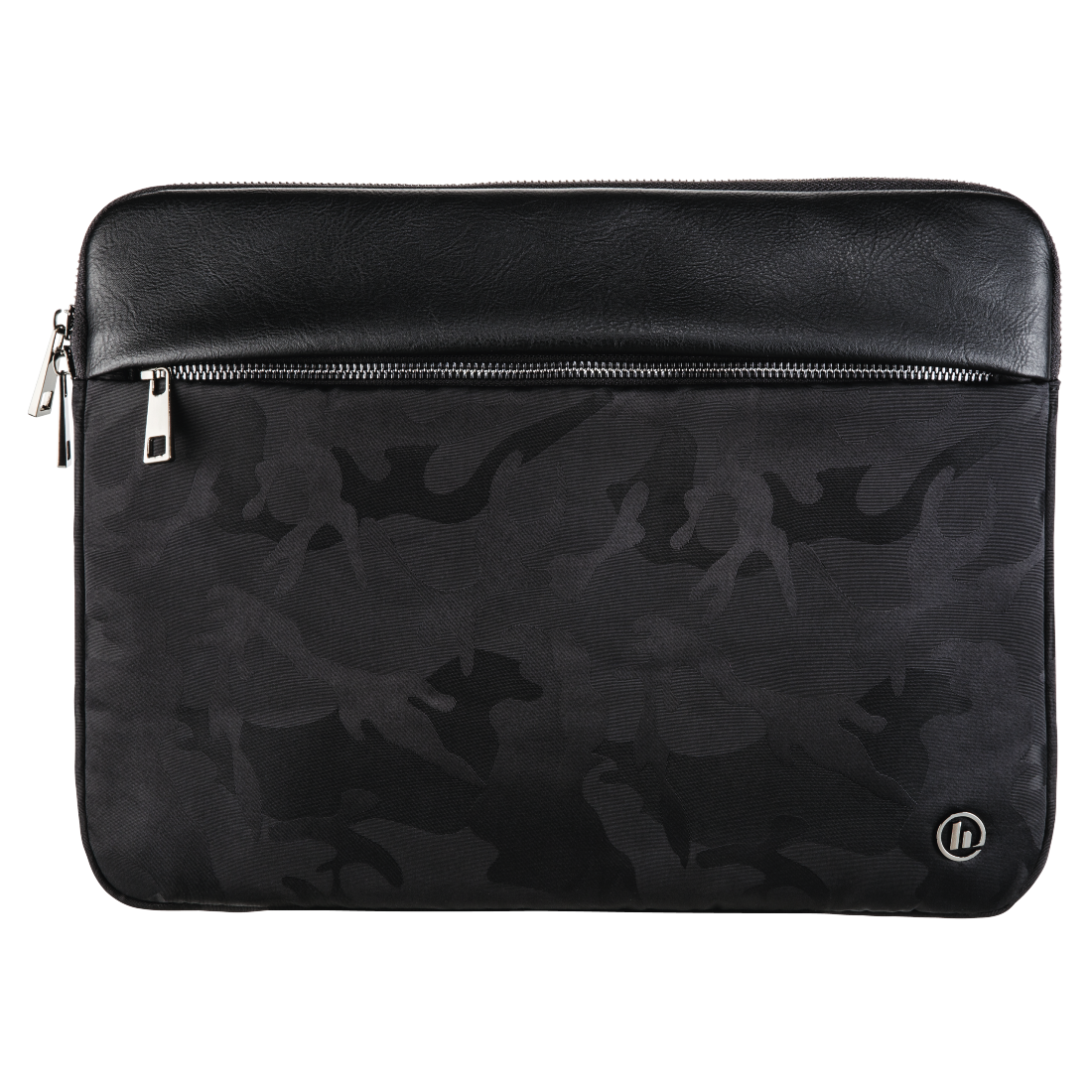 abx High-Res Image - Hama, Mission Camo Notebook Sleeve, up to 40 cm (15.6), gun metal