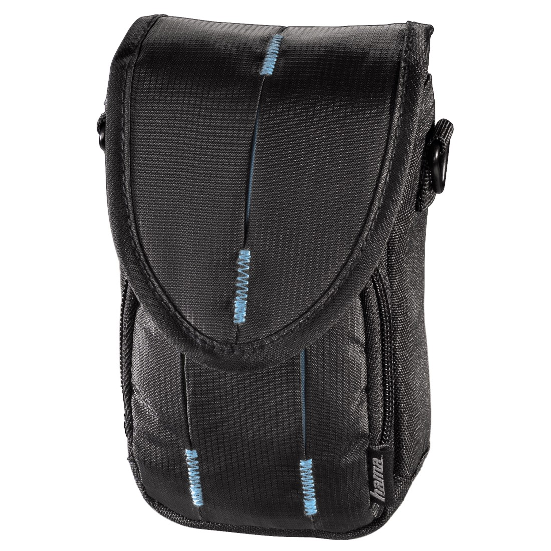 abx High-Res Image - Hama, Canberra Camera Bag, 90L, black/blue