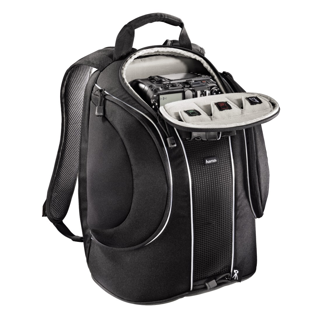 awx High-Res Appliance - Hama, Daytour Camera Backpack, 180, black