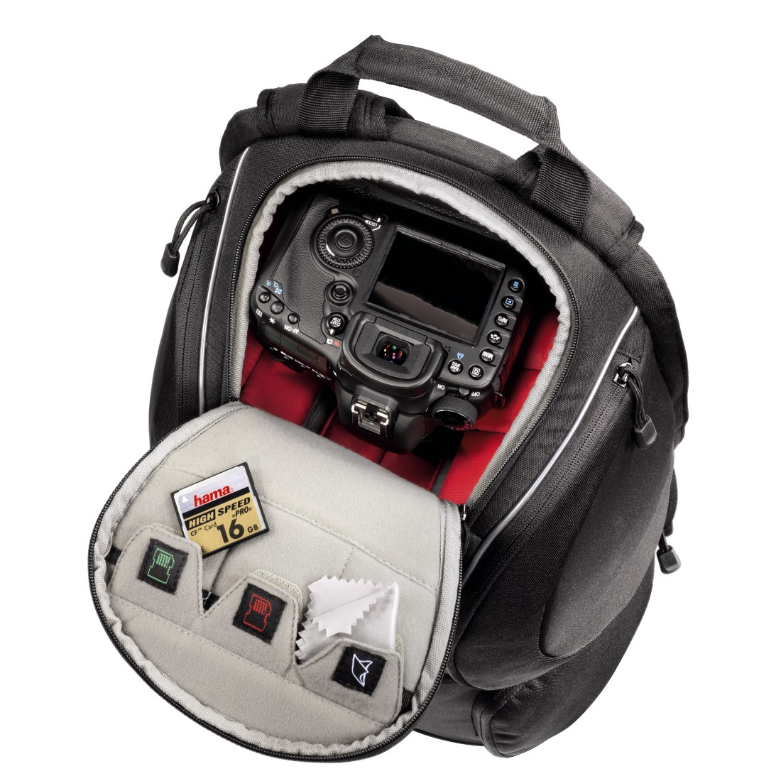 awx8 High-Res Appliance 8 - Hama, Daytour Camera Backpack, 180, black