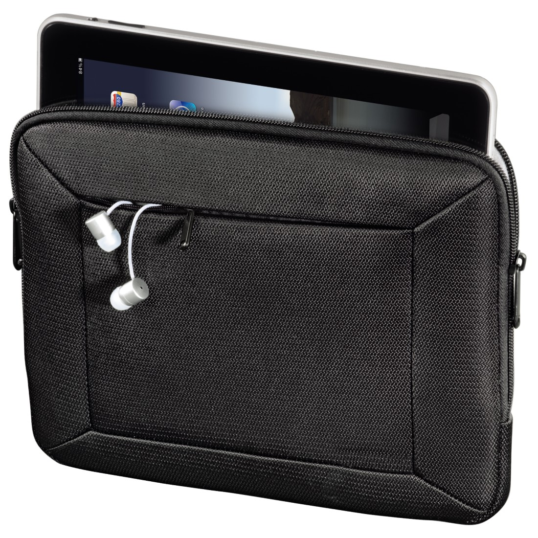 awx High-Res Appliance - Hama, Softboard Sleeve for Apple iPad/2/3rd/4th Generation, black