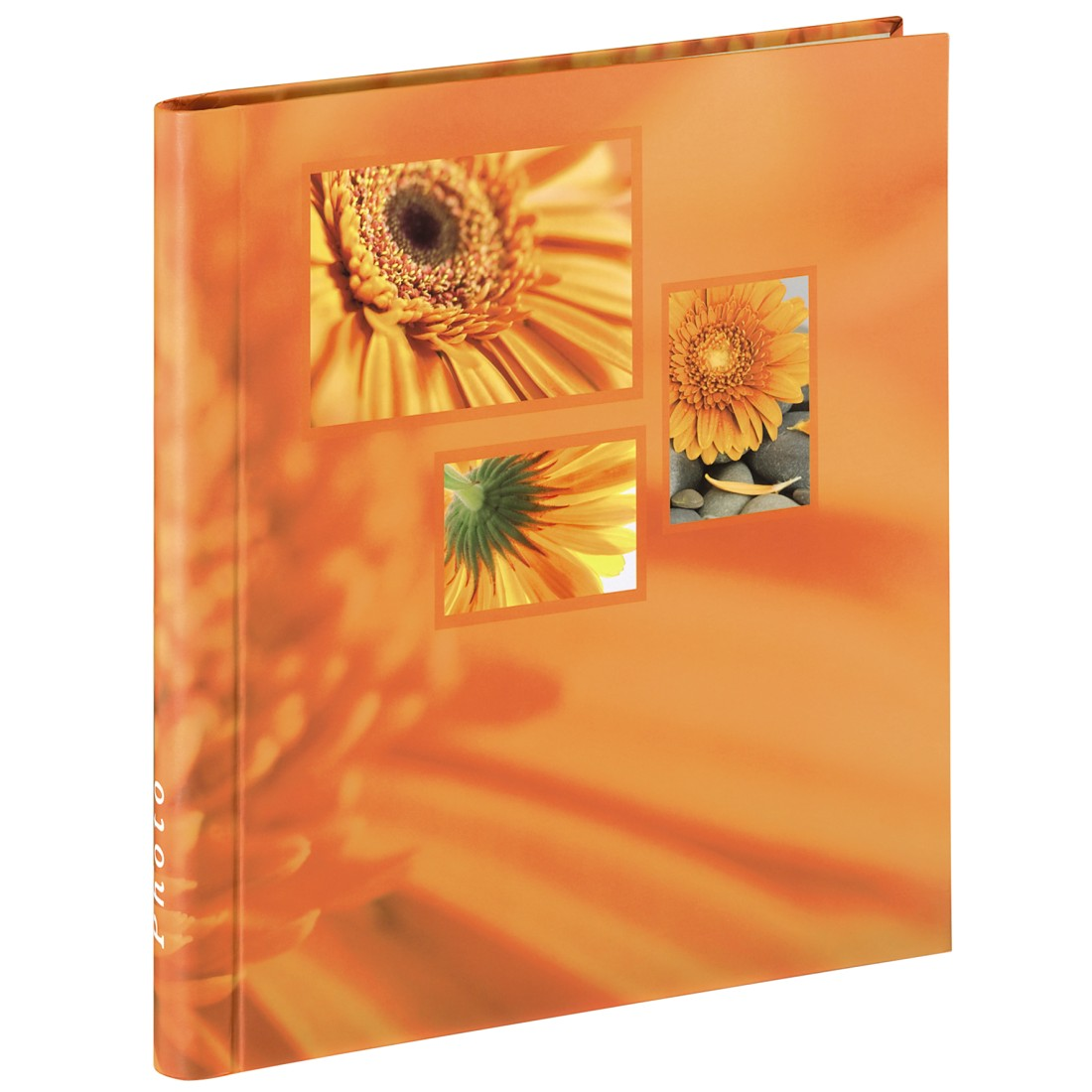 abx High-Res Image - Hama, Singo Self-Adhesive Album, 28x31 cm, 20 white pages, orange