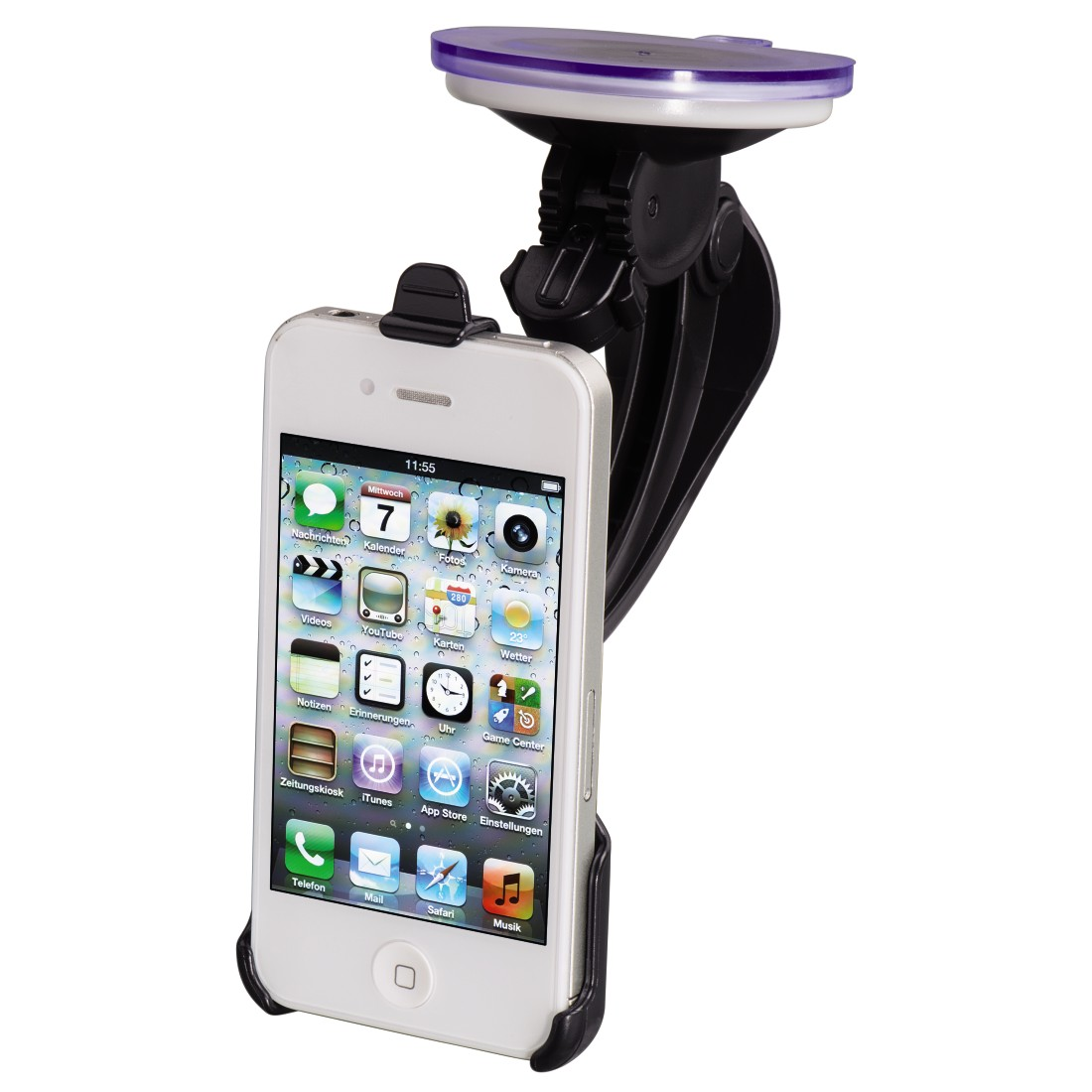awx High-Res Appliance - Hama, Basic Holder for Apple iPhone 4/4S