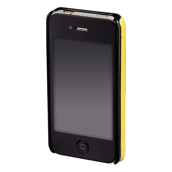 abb2 Image 2 - Hama, Stripe Mobile Phone Cover for Apple iPhone 4, yellow/black/red