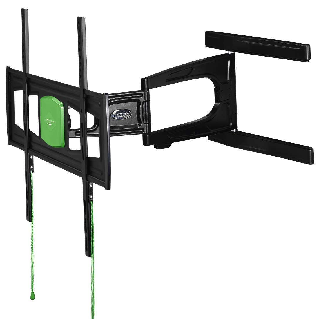 "abx2 High-Res Image 2 - Hama, Ultraslim FULLMOTION TV Wall Bracket, 3 Stars, 165cm (65""), 2 Arm, black"
