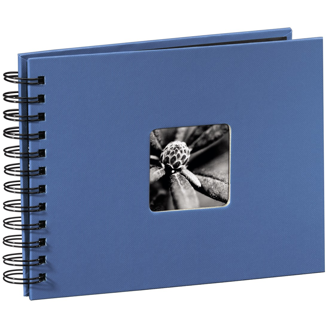 abx High-Res Image - Hama, Fine Art Spiral Bound Album, 24 x 17 cm, 50 black pages, azure