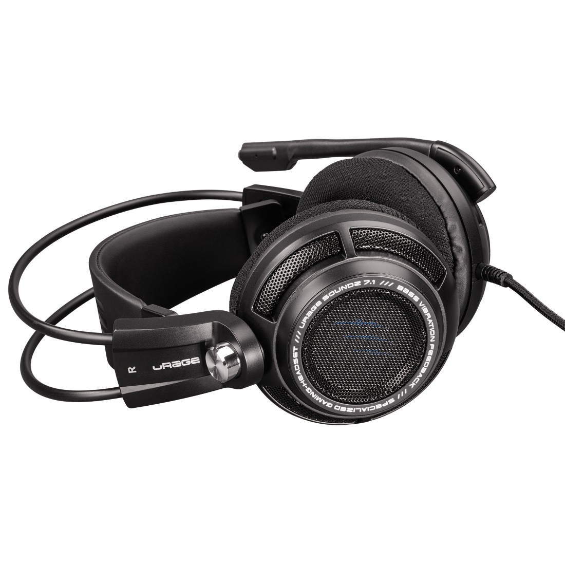 abx4 High-Res Image4 - Hama, uRage SoundZ 7.1 Gaming Headset, black