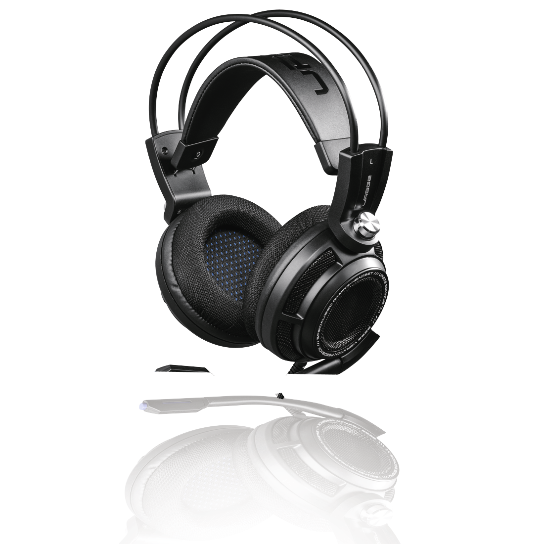 abx5 High-Res Image 5 - Hama, uRage SoundZ 7.1 Gaming Headset, black