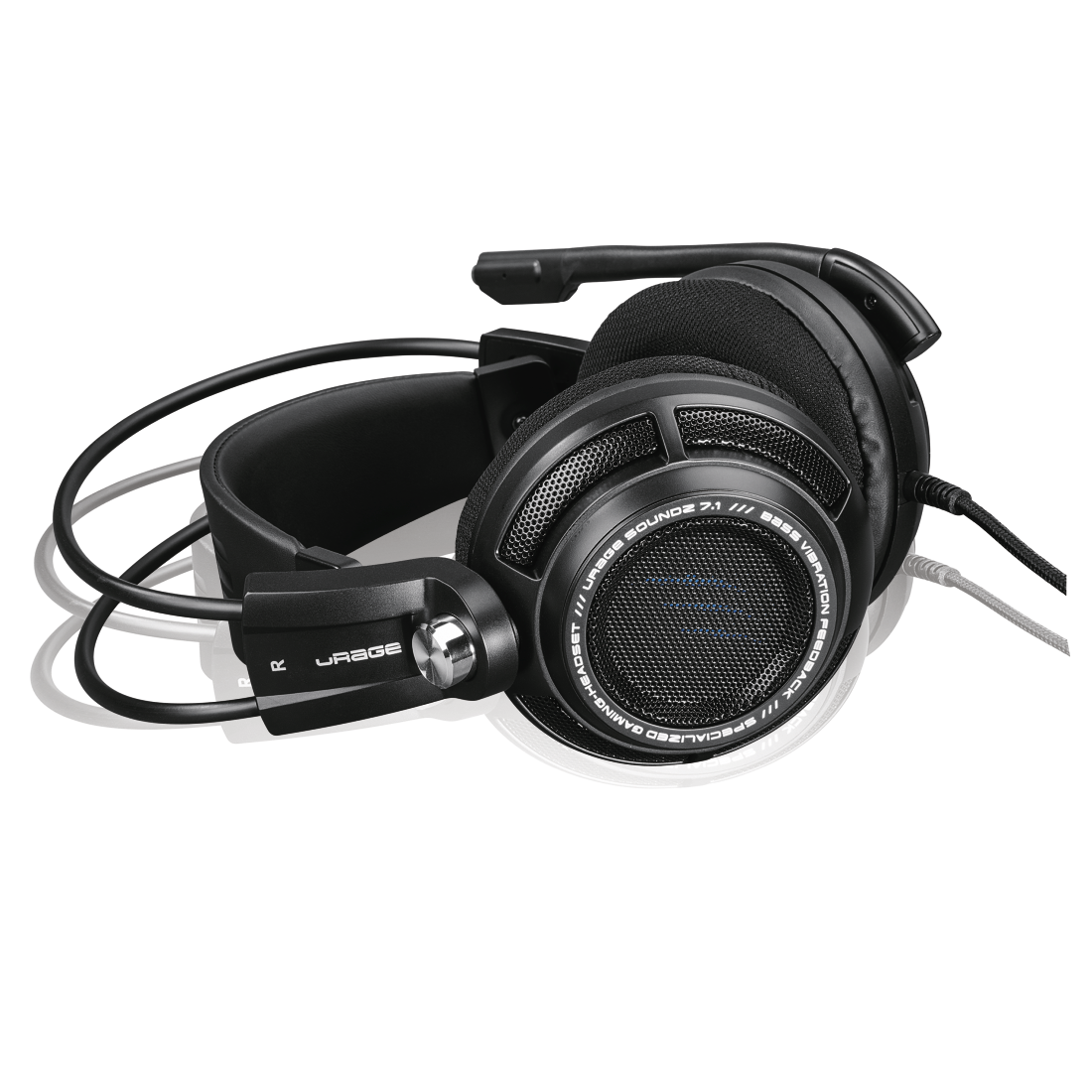 abx7 High-Res Image 7 - Hama, uRage SoundZ 7.1 Gaming Headset, black
