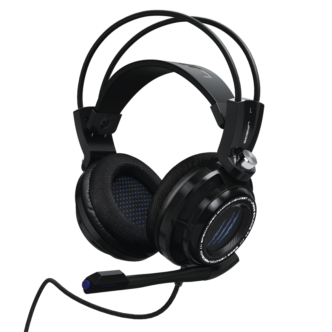 abx8 High-Res Image 8 - Hama, uRage SoundZ 7.1 Gaming Headset, black