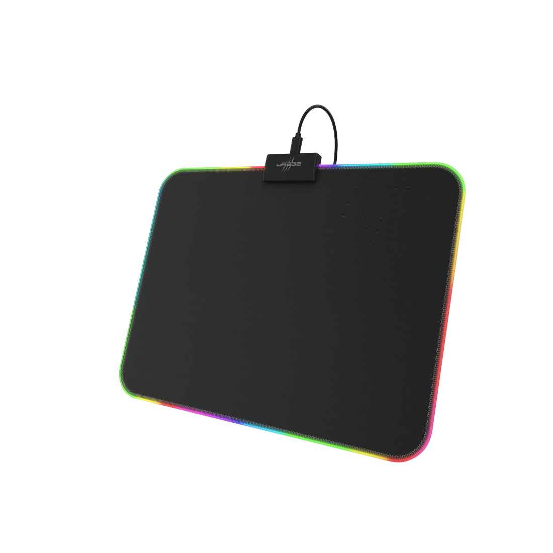"abx High-Res Image - uRage, ""uRage Rag Illuminated"" LED Gaming Mouse Pad, Speed Version, mid-size"